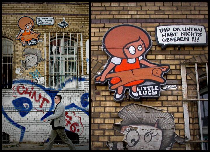 El Bocho - Street art, Berlin - Tily Travels