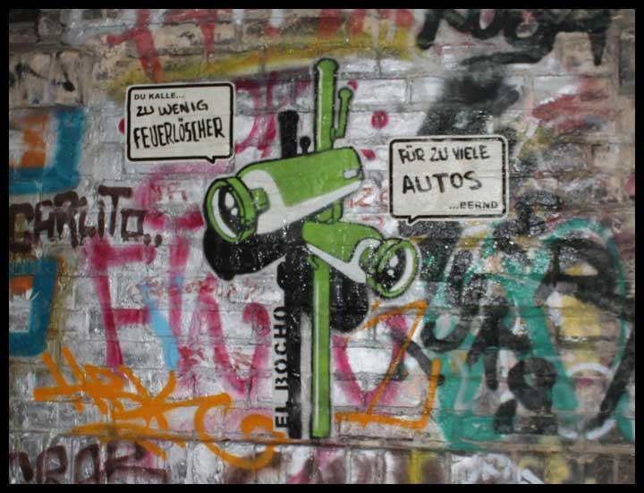 El Bocho Berlin Streetart107